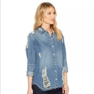 Joe jeans women's Vera denim shirt